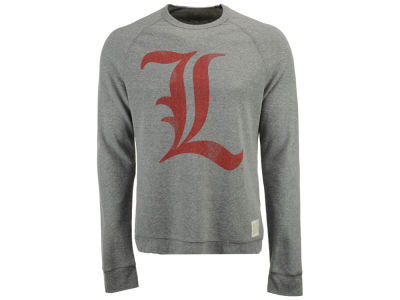 Louisville Cardinals Retro Brand NCAA Men's Quad Crew Sweatshirt