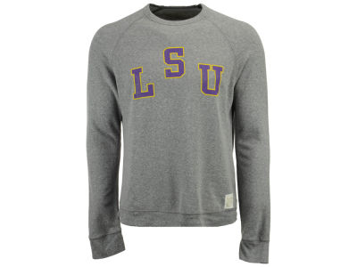 LSU Tigers Retro Brand NCAA Men's Quad Crew Sweatshirt