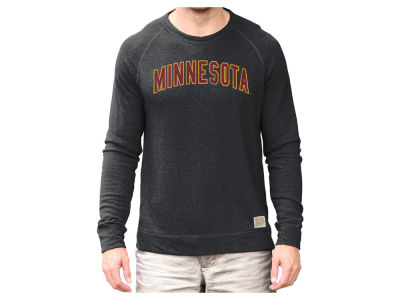 Minnesota Golden Gophers Retro Brand NCAA Men's Quad Crew Sweatshirt