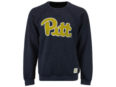 Pittsburgh Panthers Retro Brand NCAA Men's Tri-Blend Crew Sweatshirt