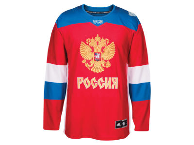 Russia Hockey adidas Men's World Cup Of Hockey Premier Jersey