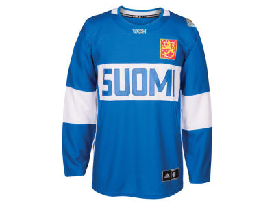 Finland Hockey adidas Men's World Cup Of Hockey Premier Jersey