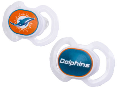 Miami Dolphins 2-pack Pacifier Set