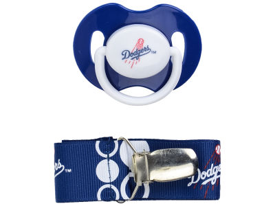 Los Angeles Dodgers Pacifier With Clip