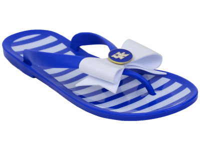 Kentucky Wildcats NCAA Stripe Flip Flops