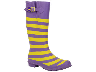 LSU Tigers NCAA Stripe Rainboots