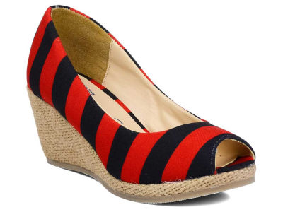 Louisville Cardinals NCAA Stripe Wedges