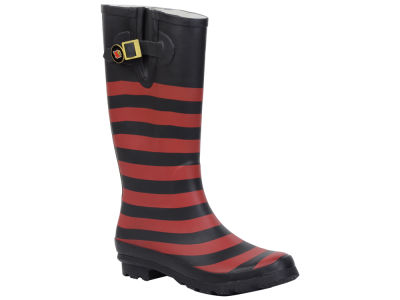Louisville Cardinals NCAA Stripe Rainboots