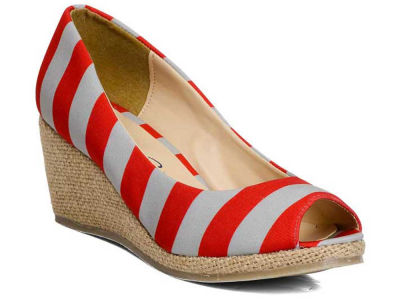 Ohio State Buckeyes NCAA Stripe Wedges