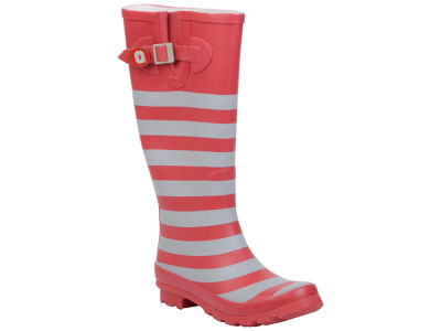 Ohio State Buckeyes NCAA Stripe Rainboots