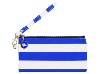 Kentucky Wildcats NCAA Stripe Wristlet