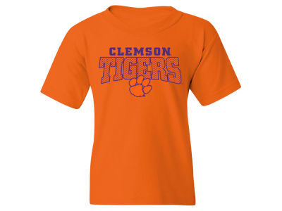 Clemson Tigers NCAA Youth Mesh Graphic T-Shirt