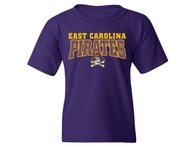 East Carolina Pirates MYU NCAA Youth Mesh Graphic T-Shirt