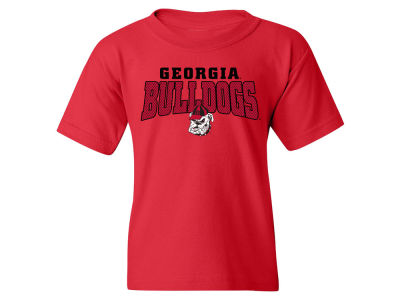 Georgia Bulldogs NCAA Youth Mesh Graphic T-Shirt