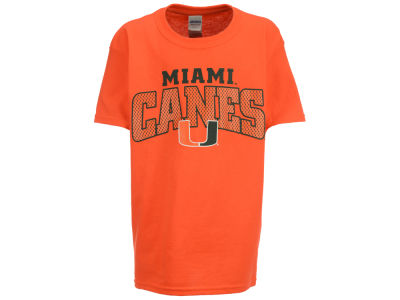 Miami Hurricanes NCAA Youth Mesh Graphic T-Shirt