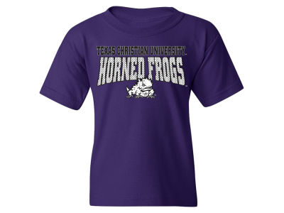 Texas Christian Horned Frogs NCAA Youth Mesh Graphic T-Shirt