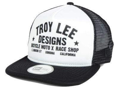 Troy Lee Designs Classic Race Shop Trucker Snapback Cap