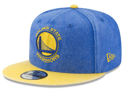 Golden State Warriors New Era NBA Rugged Canvas 9FIFTY Snapback Cap