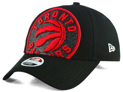 Toronto Raptors New Era NBA Women's Glitter Glam 3 Adjustable Cap