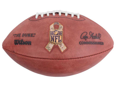 "Wilson Salute to Service ""The Duke"" Game Football"