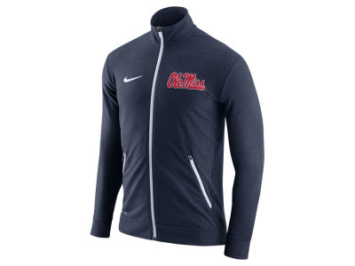 Ole Miss Rebels Nike NCAA Men's Elite Players DriFit Touch Full Zip Jacket