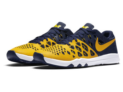Michigan Wolverines Nike NCAA Train Speed 4.0 AMP Week Zero Training Shoes