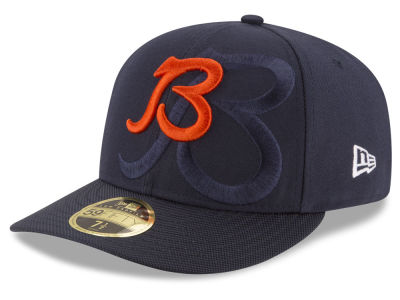 Chicago Bears New Era NFL Sideline Low Profile 59FIFTY Cap