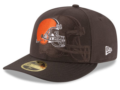 Cleveland Browns New Era NFL Sideline Low Profile 59FIFTY Cap