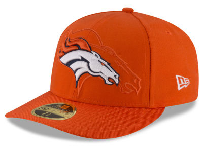 Denver Broncos New Era NFL Sideline Low Profile 59FIFTY Cap