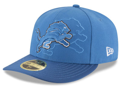 Detroit Lions New Era NFL Sideline Low Profile 59FIFTY Cap
