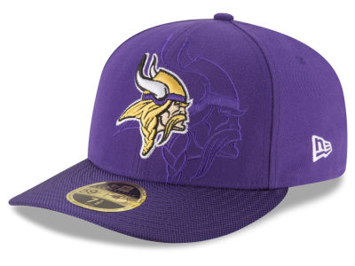 Minnesota Vikings New Era NFL Sideline Low Profile 59FIFTY Cap