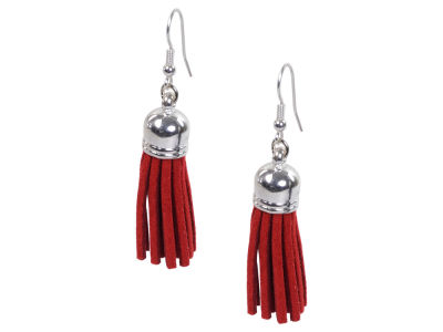 Oklahoma Sooners Fringe Earrings