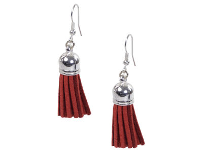 Ohio State Buckeyes Fringe Earrings