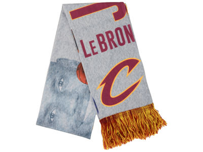 Cleveland Cavaliers LeBron James Sublimated Player Scarf