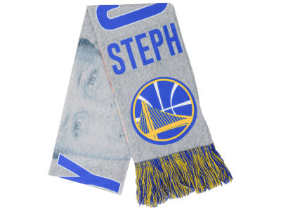 Golden State Warriors Steph Curry Sublimated Player Scarf