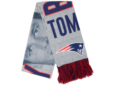 New England Patriots Tom Brady Sublimated Player Scarf