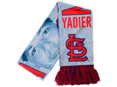 St. Louis Cardinals Yadier Molina Forever Collectibles Sublimated Player Scarf
