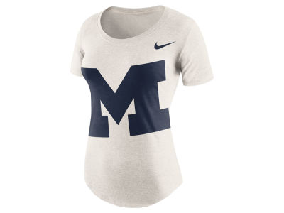 Michigan Wolverines Nike NCAA Women's Triblend Nameplate Boyfriend T-Shirt