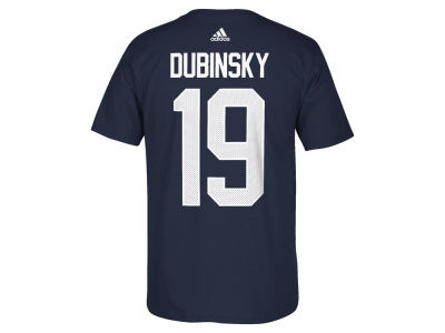 USA Hockey Brandon Dubinsky adidas NHL Men's World Cup Of Hockey Replica Player T-Shirt