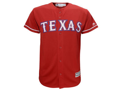 Texas Rangers MLB Youth Blank Replica Jersey