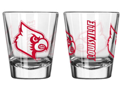 Louisville Cardinals Boelter Brands Game Day Collectible Glass-2oz.