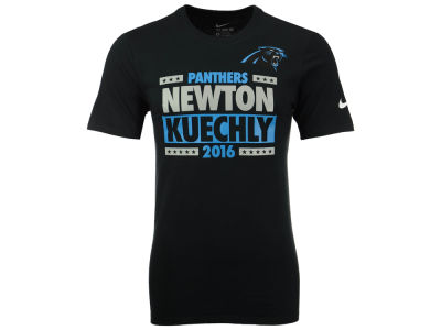 Carolina Panthers NEWTON/KUECHLY Nike NFL Men's Election T-Shirt