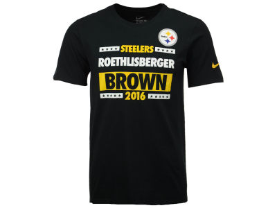 Pittsburgh Steelers ROETHLISBERGER/BROWN Nike NFL Men's Election T-Shirt