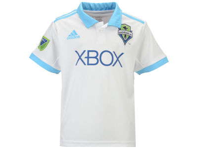 Seattle Sounders FC adidas MLS Kids Secondary Replica Jersey