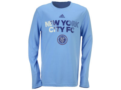 New York City FC adidas MLS Youth Striker T-Shirt