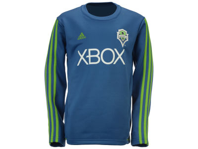 Seattle Sounders FC adidas MLS Youth Long Sleeve Training T-Shirt