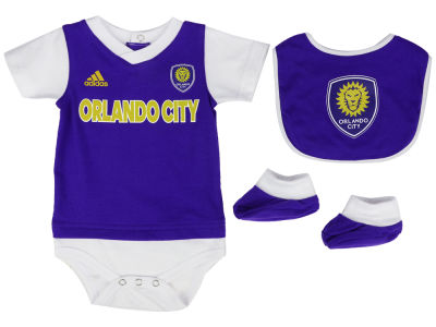 Orlando City SC adidas MLS Newborn Mismatch Essentials Set