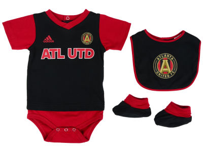 Atlanta United FC adidas MLS Newborn Mismatch Essentials Set