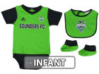 Seattle Sounders FC adidas MLS Infant Mismatch Essentials Set Infant Apparel