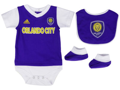 Orlando City SC adidas MLS Infant Mismatch Essentials Set